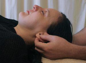 Upledger Craniosacral Therapy: releasing the parietal bones.